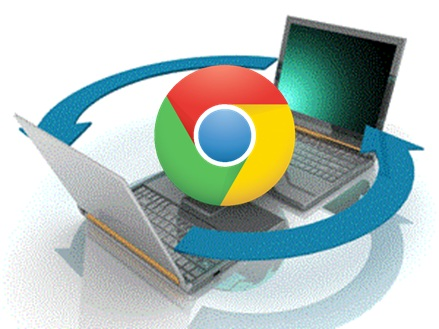 Tela de abertura Chrome Remote Desktop